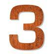 Weathering Corten Steel Letters Numbers from MakeForMe.us