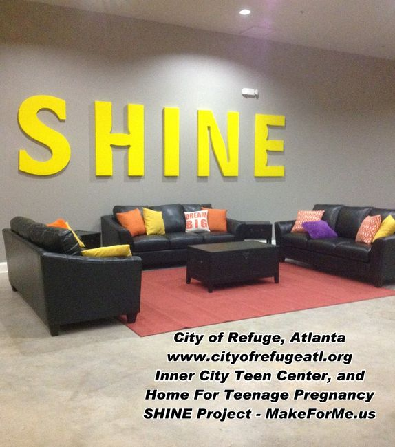 shine city of refuge atlanta inner city teen center